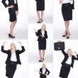 Foto Stock: Business woman