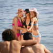 Group of young at the beach — Stock Photo #9043737