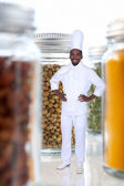 Jars Of Herbs And Spices — Stock Photo