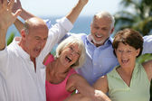 Happy seniors — Foto Stock