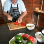 Man preparing vegetables — Stock Photo #9051949