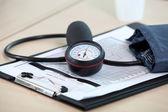 Blood pressure equipment — Stock Photo