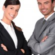 Team of business professionals — Stock Photo #9061553