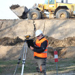 Stock Photo: Surveyor working