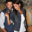 Picture of wine tasting — Stock Photo #9063367