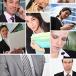 Executives in office — Stock Photo
