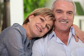 Mature couple in love — Stock Photo