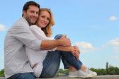 Portrait of a couple — Stock Photo