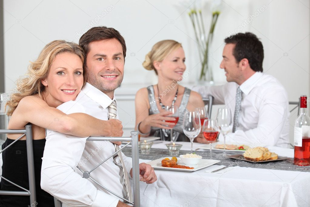 Dinner party  Stock Photo #9156683