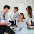 Business team setting agenda — Stock Photo #9162090
