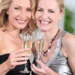 Stock Photo: Women partying