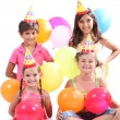 Children having a party — Stock Photo