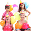 Royalty-Free Stock Photo: Children having a party