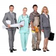 Professionals from different domains — Stock Photo #9167388