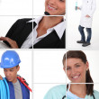 Stock Photo: Different jobs