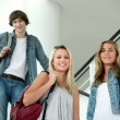 Teenagers in stairs — Stock Photo #9168096