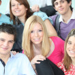 Stock Photo: College classmates