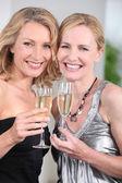 Women partying — Stock Photo