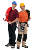 Two electricians tools — Stock Photo