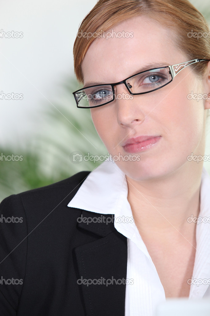 Strict woman — Stock Photo #9165900