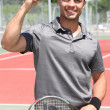 Tennis player — Stock Photo #9170073