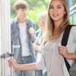 Girl at school — Stock Photo #9170849