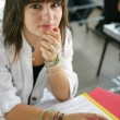 Teenage girl at school — Stock Photo #9172570