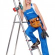 Stock Photo: Female DIY