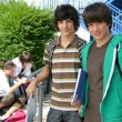 Teenage boys at school — Stock Photo #9174528