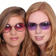 Stock Photo: Girls with sunglasses
