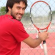 Tennis player — Stockfoto #9178364