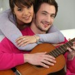 Young couple having fun - Lizenzfreies Foto