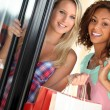 Girlfriends shopping — Stock Photo #9207648