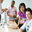 Business professionals at work — Stock Photo