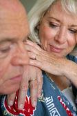 äldre par — Stockfoto