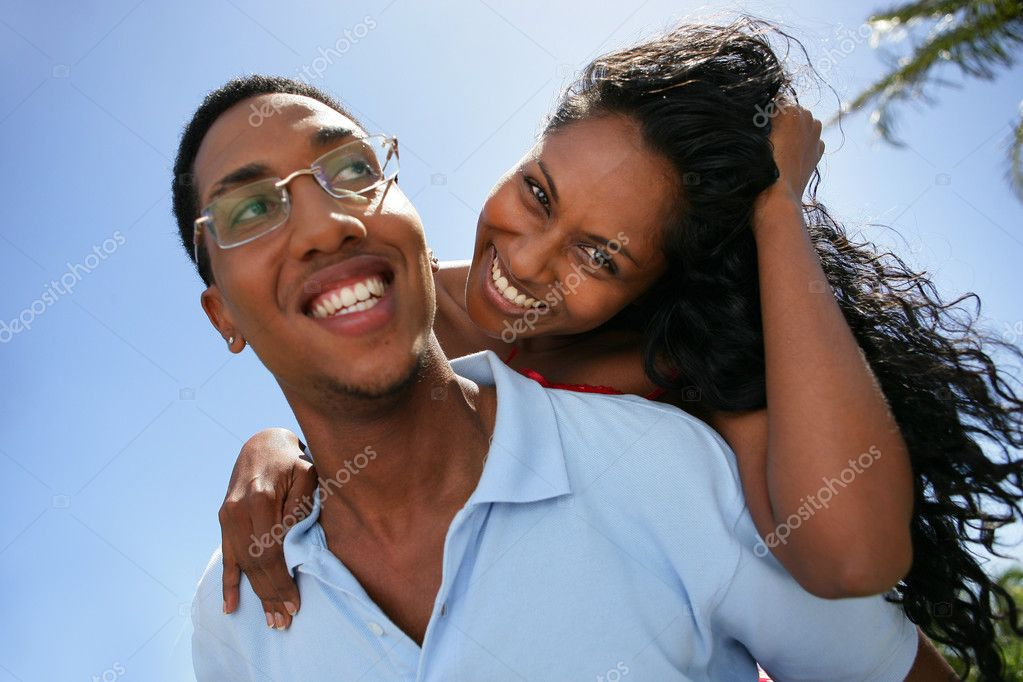 Couple embracing — Stock Photo #9206293