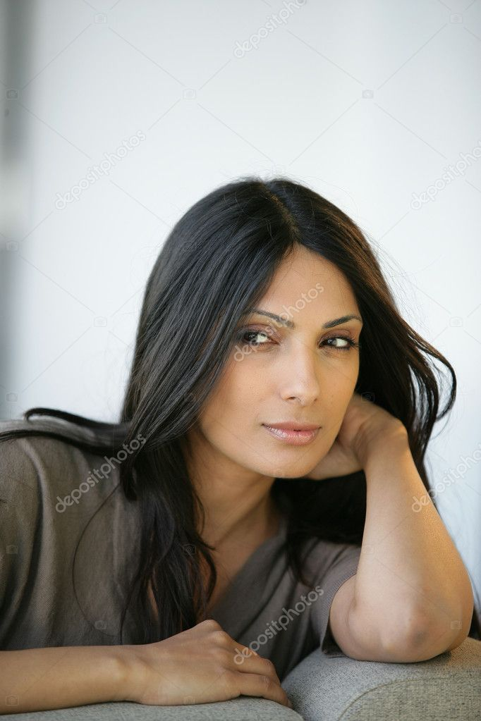Sultry woman — Foto Stock #9209201