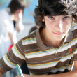 Teenager at school - Stockfoto
