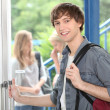 Student at school — Foto Stock