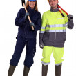 Construction workers — Stock Photo #9214617