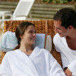 Stock Photo: Couple on romantic getaway