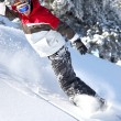 Snowboarder — Stock Photo #9216003