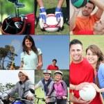 desporto para todos — Foto Stock