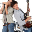 Music band — Stock Photo #9219506