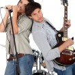 Stock Photo: Music band