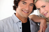 Portrait of a smiling couple — Stock Photo