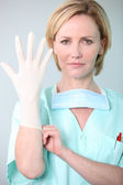 Portrait of a nurse — Stock Photo