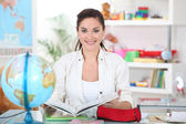 Primary school teacher — Stock Photo