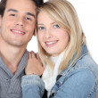 Happy young couple — Stock Photo #9227202