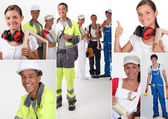 Construction trades — Stock Photo